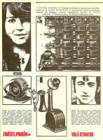 Z programu představení Zavěste, prosím, volá Semafor (1972)