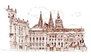 Karel TRINKEWITZ: Hradčanské náměstí