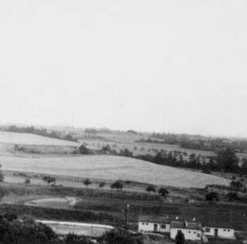 Podkrušnohorské městečko Klášterec nadOhří vroce 1970