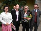 Jitka Vykopalová, Derek Colloredo-Mansfeld, Kristina Colloredo-Mansfeld, Leonhard Colloredo-Mansfeld