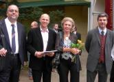 Pavel Loužecký, Derek Colloredo-Mansfeld, Kristina Colloredo-Mansfeld, Leonhard Colloredo-Mansfeld