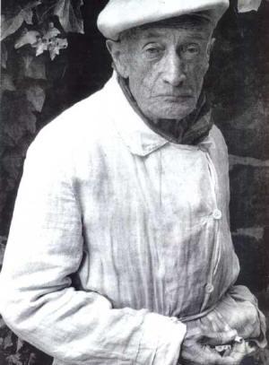 František Kupka. Foto převzato zpublikace Pocta Františku Kupkovi.