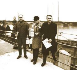 Po plavbě: Oborski - Ryszawa - Židek