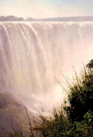 Zimbabwe -Viktoriiny vodopády
