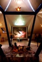 Křišťálová čajovna Galerie Cesty ke světlu