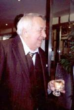 Dva dobří přátelé: Miroslav Horníček asklenka bílého vína