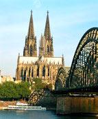 """Die Kölner Kathedrale """"am Bahnhof"""""""