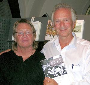 Bokens redaktörer Vladimir Oravsky och Tomas Kramar. (fr.v.)