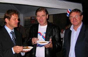 Peter Kmec, Tomáš Danko aDušan Daučík. (f.v.)