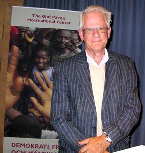 Ingvar Carlsson, f d statsminister och partiledare